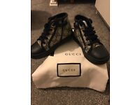 BRAND NEW KIDS GUCCI HIGH TOP TRAINERS!