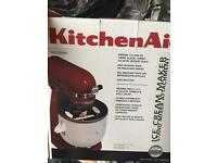 Kitchen aid ice cream maker New!!!