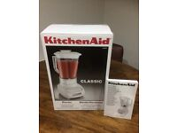 Kitchen aid classics blender brand new