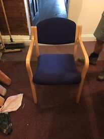 office furniture, chairs for sale x 8