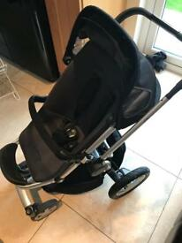 Quinny 4 wheeler complete travel system