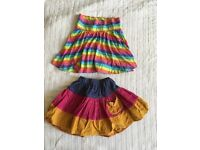 Girls skirts aged 2-3