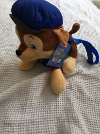 Paw patrol chase backpack NEW WITH TAGS