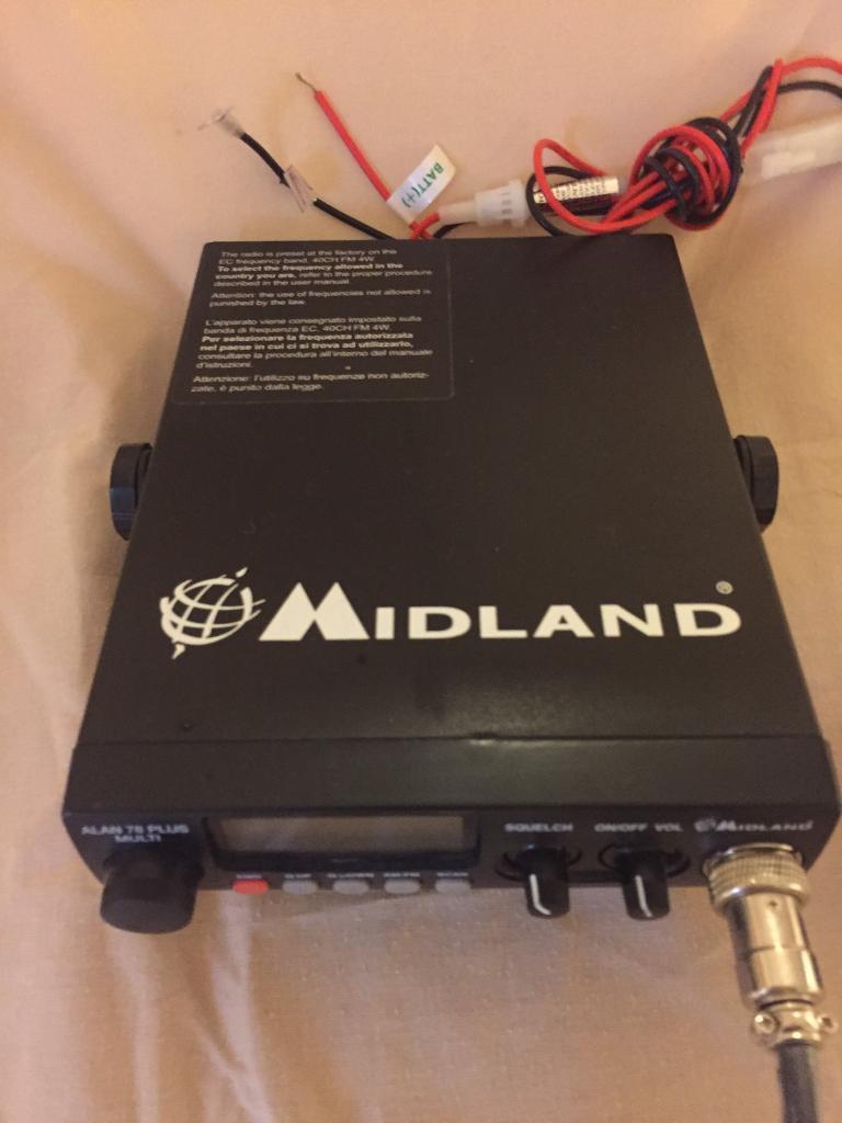 Midland Alan 78 plus CB radio