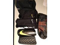 Professional Nike football shin pads