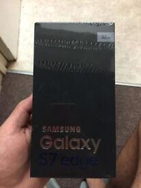 Brand New samsung galaxy s7 Edge 32GB blue