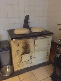 Aga Cooker solid fuel