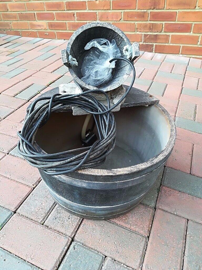 Bucket Water Feature