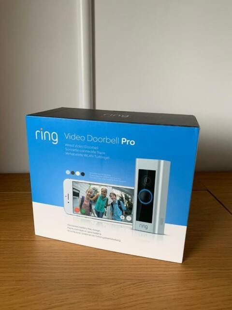 Ring doorbell pro brand new in box | in Peterborough, Cambridgeshire |  Gumtree