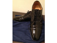 Charles Tyrwhitt Men's Formal Dress/Evening Shoes in Black Patent Leather (UK9.5)