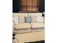 Laura Ashley three seater sofa second hand great condition.