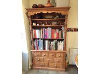 Lovely wooden Welsh dresser.