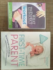 First Time Parent Book & Pregnancy Fitness DVD
