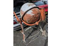 Electric cement mixer free