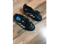 Boys size 10 Adidas football boots