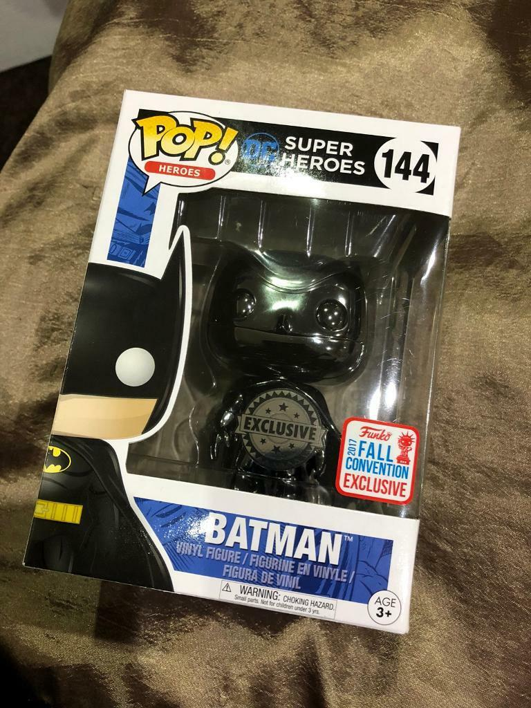 Batman Black Chrome NYCC Exclusive Funko Pop
