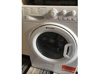 Hotpoint Washer & Dryer (White - WDAL8640P)