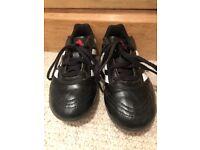 Unisex children's Adidas football boots, size 13