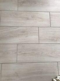Harbour white floor tiles 2.5sqm