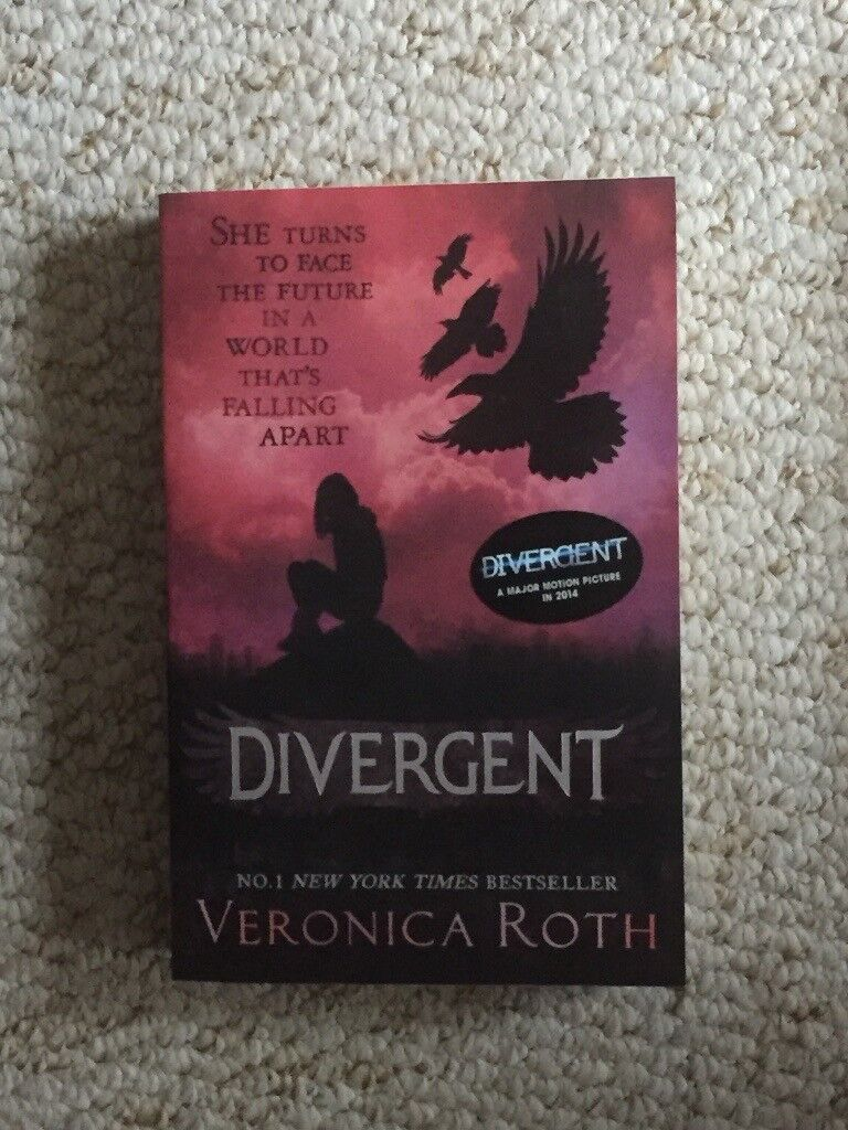 The first two books of the Divergent series by Veronica Roth (or sold seperately)