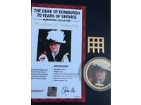 The Duke of Edinburgh 70 years of service