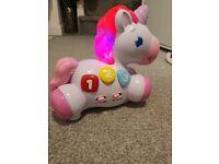 Bright starts unicorn toy