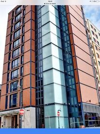 Fantastic location, Secure designated undercroft car park space available at Jury's Inn