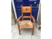Wooden chairs with arms , great look and design