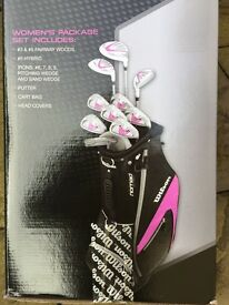 Wilson X31 Ladies golf clubs full set (brand new)