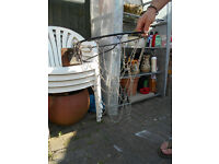 Outdoor Basketball hoop for wall, metal chain