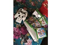 Xbox one and games played a few time