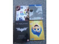 Brand new sealed DVDs box sets £5 each single DVDs £4