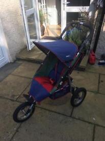 Cosattic pacer 3 wheel baby jogger