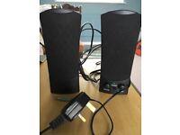Argos 2.0 Stereo PC Speakers Black