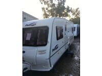 Bailey pageant Bordeaux 2005 4 berth fixed bed with full awing