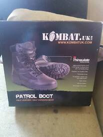 Patrol boots brand new in box