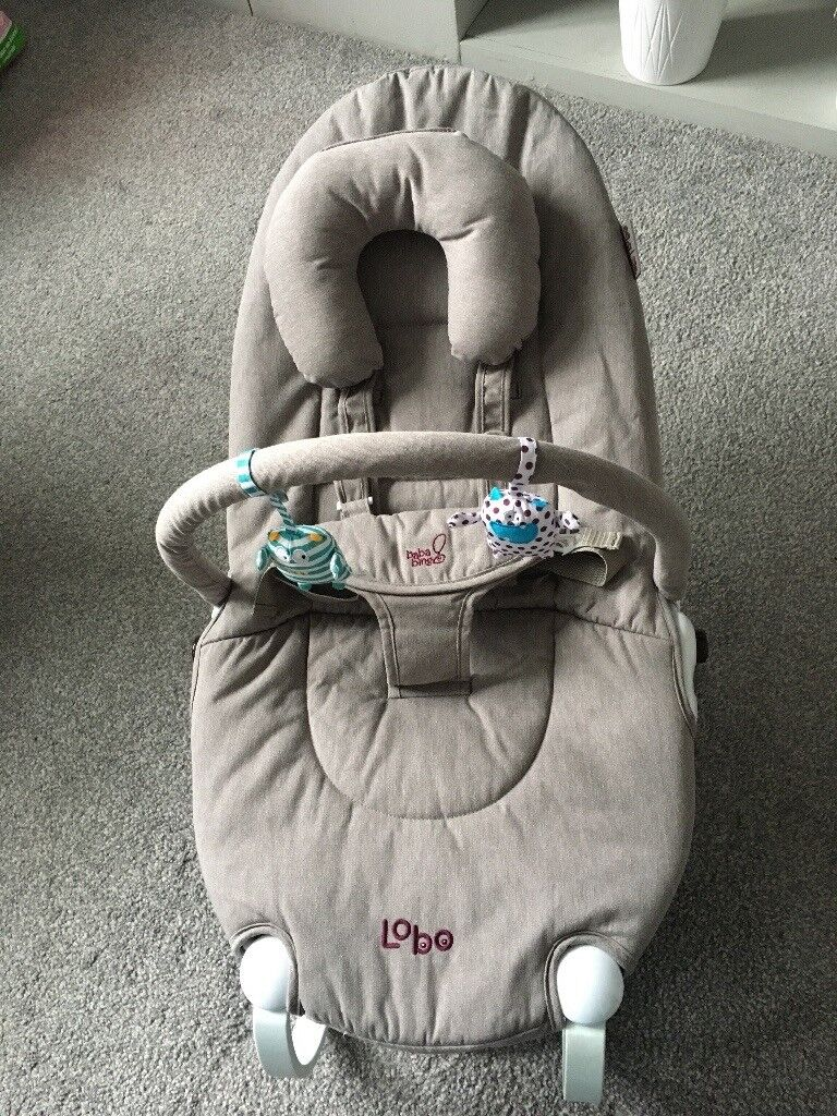 Baba Bing Lobo 2 Baby Bouncer