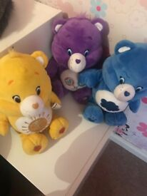Kids toys Care Bears interactive