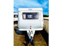 2014 hobby deluxe double dinette fitted mover full awning many more extra light weight easy to tow