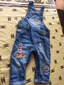 Dungarees each £4