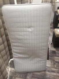 Mothercare cotbed mattress.