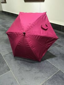 Mylo raspberry ripple accessories all unused parasol, summer net, and chasis bag
