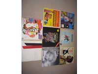 8 LPs Job Lot