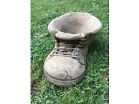 'Old boot' planter, Garden Ornament