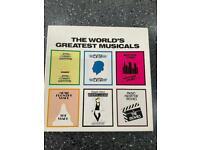 The World's Greatest Musicals LP Box Set