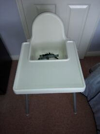 Ikea Antilop high chair nearly new