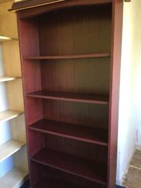 Mahagony book case Good Con