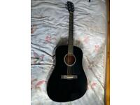 Guitar Fender CD-60 BK V3 + accessories