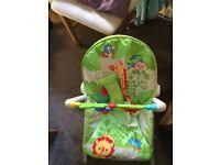 Fisher price rainforest rocker chair