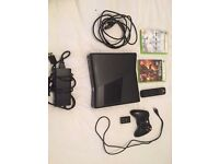 xbox 360 slim with gears of war 2 plus more